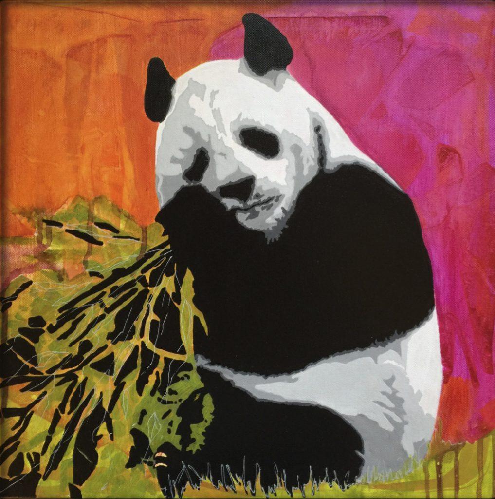 Panda h50 x b50 cm