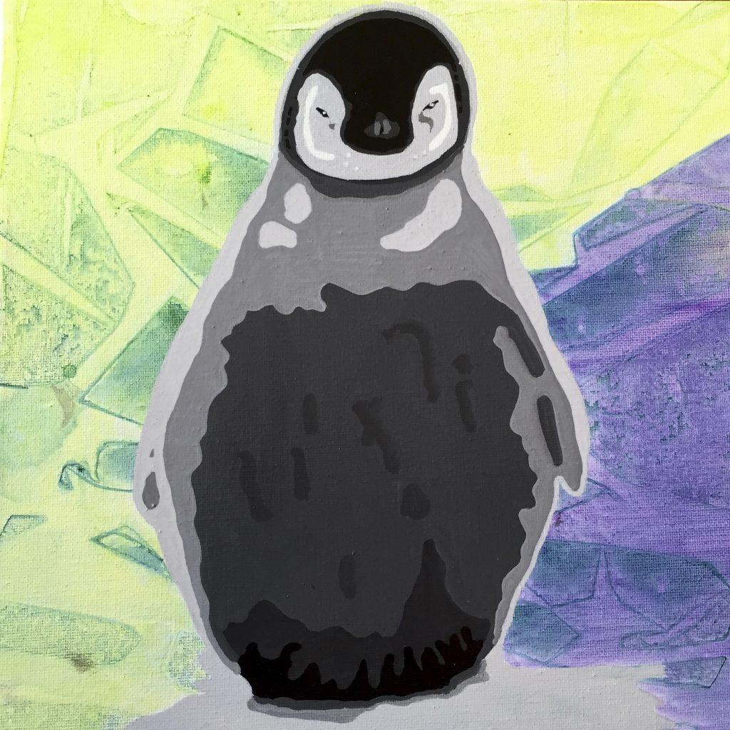 Pingvinunge h30 x b30 cm