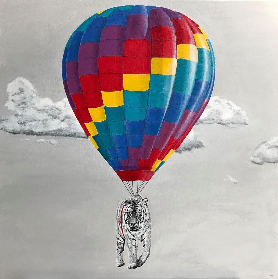 Tiger i luftballon